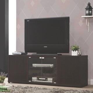 Coaster Company Cappuccion Glass Door Wooden TV Console