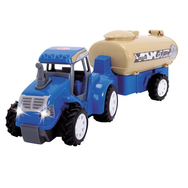Dickie Toys Blue Farm Tractor
