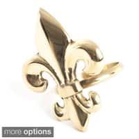 Fleur-de-Lis Design Napkin Ring