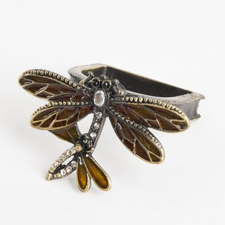Dragonfly Napkin Ring - (Set of 4)