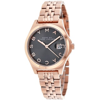Marc Jacobs Women's MBM3352 The Slim Round Rose Gold Bracelet Watch