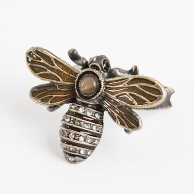 Bumble Bee Napkin Ring - (Set of 4)