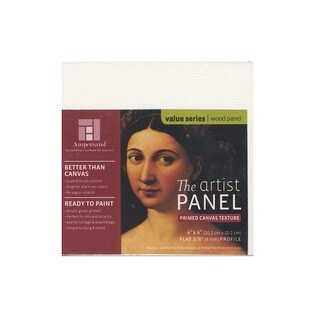 Ampersand The Artist Panel Canvas Texture Flat Profile