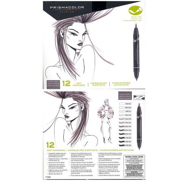 Shop Prismacolor Double End Brush Plus Fine Art Marker Set