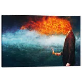 """Cortesi Home """"Deep"""" by Mario Sanchez Nevado, Giclee Canvas Wall Art"""