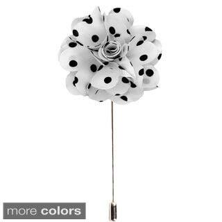 Men's Handmade Polka Dots Lapel Flower Pin|https://ak1.ostkcdn.com/images/products/9680873/P16859937.jpg?impolicy=medium