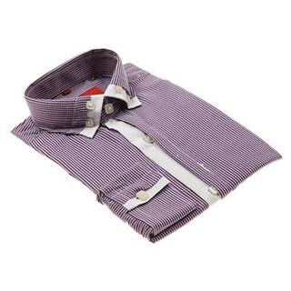 Elie Balleh Men's Slim Fit Collared Dress Shirt