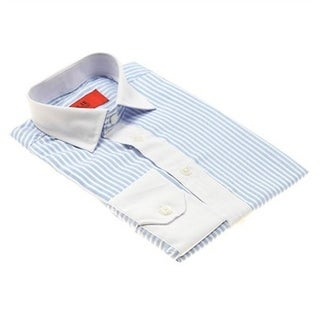 Elie Balleh Brand Boy's Striped Slim Fit Shirt