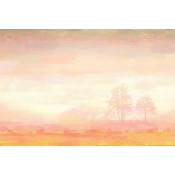 Parvez Taj 'Orange Mist' Canvas Art