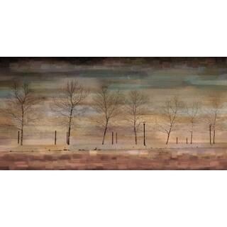Handmade Parvez Taj - The Woods Canvas Art