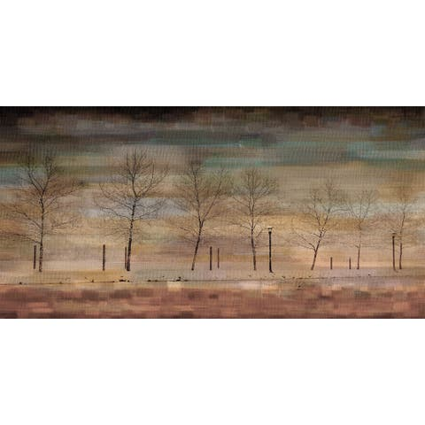 Handmade Parvez Taj - The Woods Canvas Art
