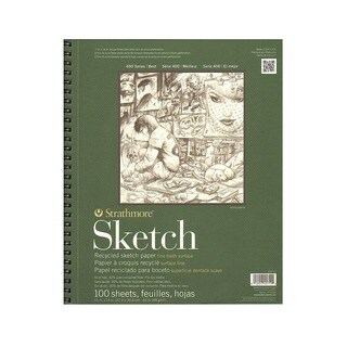 Strathmore Series 400 Premium Recycled Sketch Pads (5 options available)