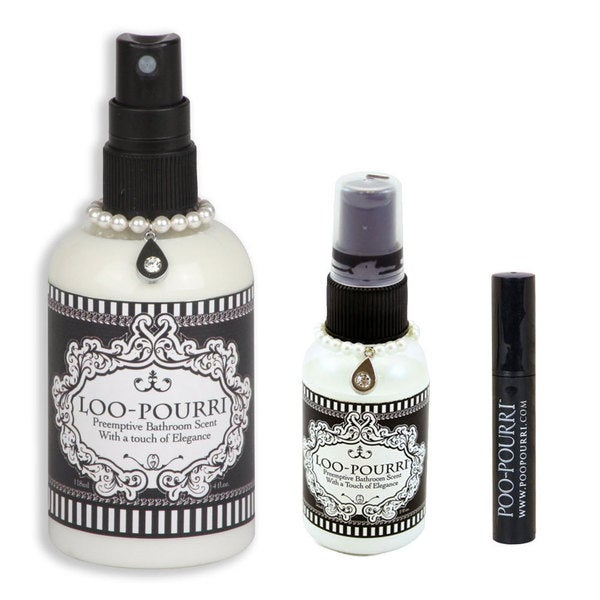 Poo Pourri Loo Pourri 3 Piece Bathroom Deodorizer Set Free Shipping On Orders Over 45