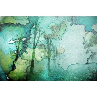 Parvez Taj 'Oceanic Watermark' Canvas Art
