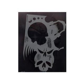 Artool Skull Master Feehand Airbrush Templates by Craig Fraser
