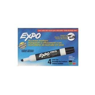 Expo Low-Odor Dry Erase Marker Sets
