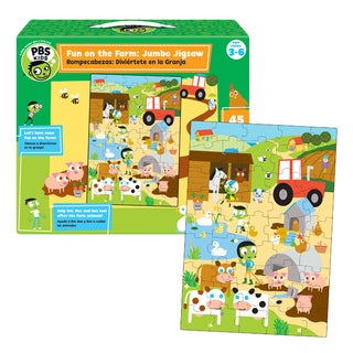 PBS Kids Fun on the Farm Jumbo Jigsaw Game