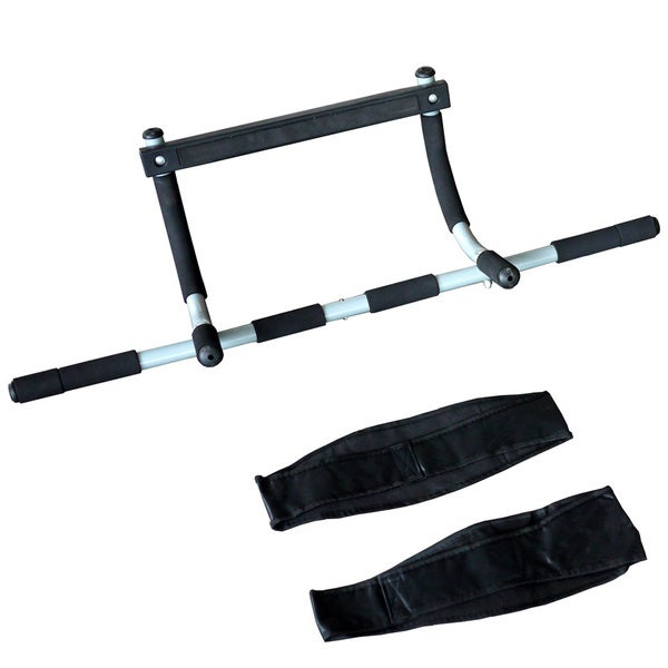 ActionLine KY-72020 Upper Body Doorway Workout Bar with Abdominal Straps