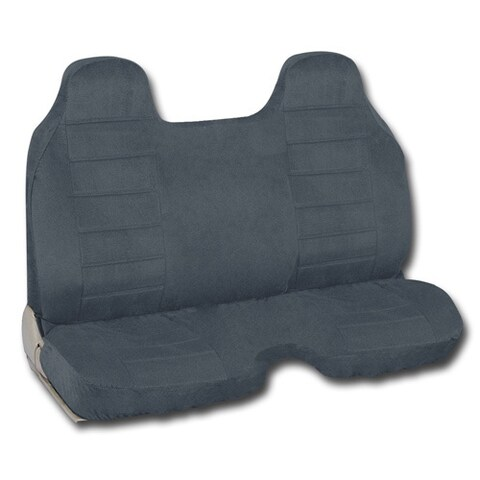 BDK Stick Gear Pick Up Truck Seat Covers - Charcoal