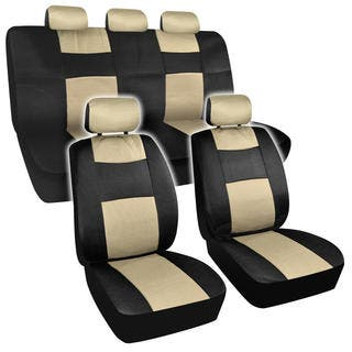 BDK Universal Fit 11 Piece Premium Fresh Mesh Car Seat Covers