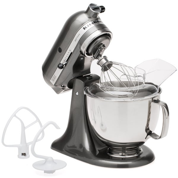 Shop Kitchenaid Ksm150psqg Liquid Graphite 5 Quart Artisan Tilt Head
