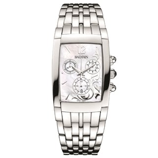 Balmain Women's B53113383 'Bellafina' Stainless Steel Swiss Quartz Watch