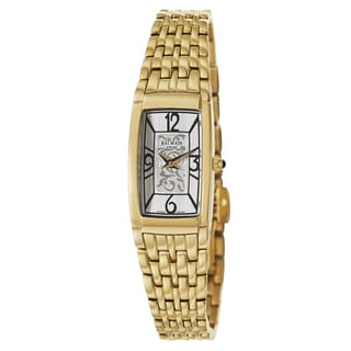 Balmain Women's B38103314 'Bellafina' Stainless Steel Yellow Gold PVD Coated Swiss Quartz Watch