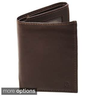 e45886024121 Quick View.  36.49. Personalized Brown Oxford Leather Tri-fold Wallet