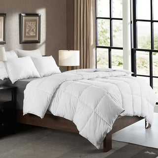Cheer Collection Luxury All Season White Down Alternative Comforter (3 options available)