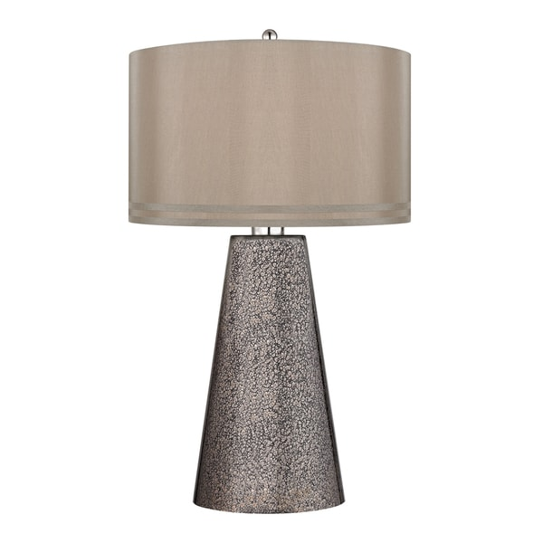 Stafford 1-light Heavy Metal Mercury Table Lamp