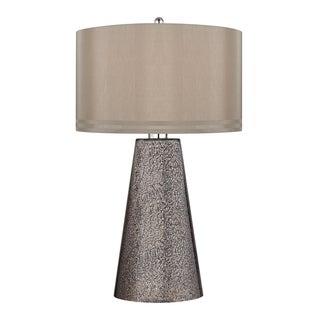 Stafford 1-light Heavy Metal Mercury Table Lamp