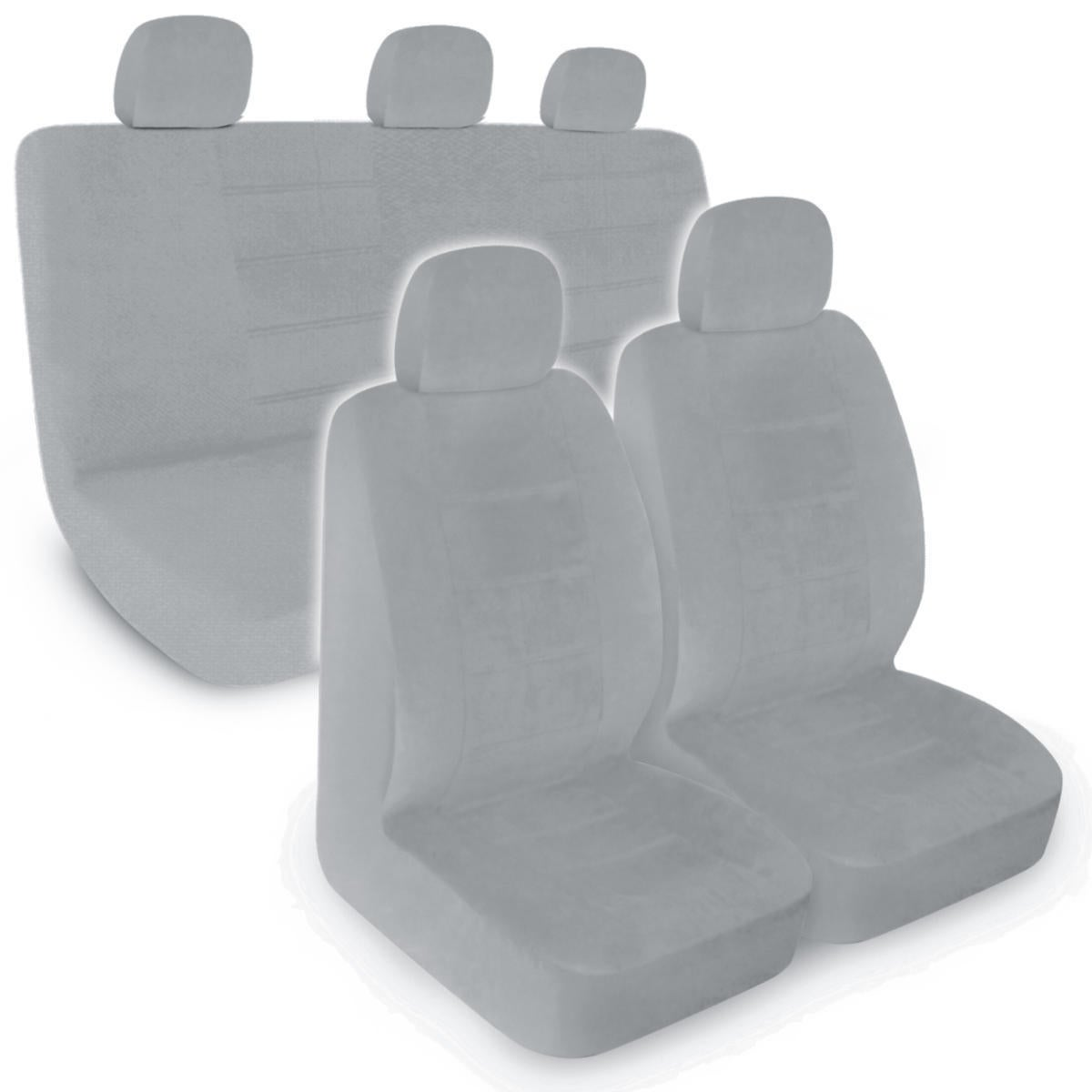 Grey Fabric Car Seat Covers For Less