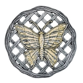 Butterfly Cast Aluminum Stepping Stone