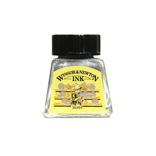 Winsor & Newton Drawing Inks (Option: Silver)