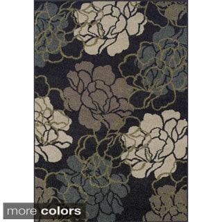 Giorgio Floral Multi Color Rug (8'2 x 10')
