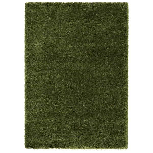 Loft Luxury Urban Shag Forest Green Polypropylene Rug (7'10 x 10')