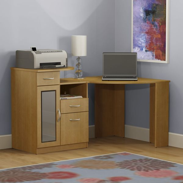 Bush Hm66315a 03 Dragonwood Corner Computer Desk Free