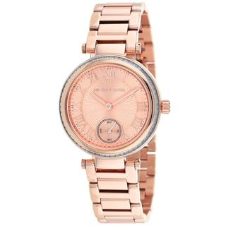 Michael Kors Women's MK5971 Mini Skylar Round Rose Gold Bracelet Watch