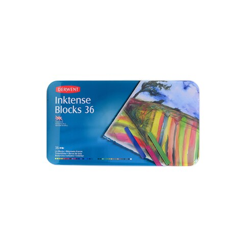 Derwent Inktense Blocks Watercolor Sets