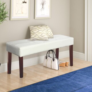 CorLiving Fresno 12-panel Bench in Leatherette