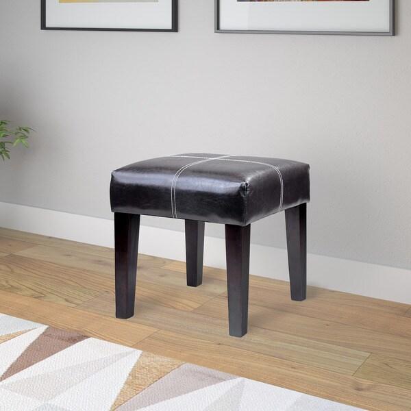 CorLiving Antonio 16-inch Bonded Leather Bench - Free ...