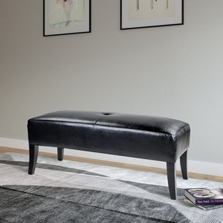 CorLiving Antonio Bonded Leather Bench