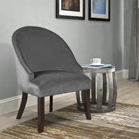 CorLiving Antonio Velvet Accent Chair