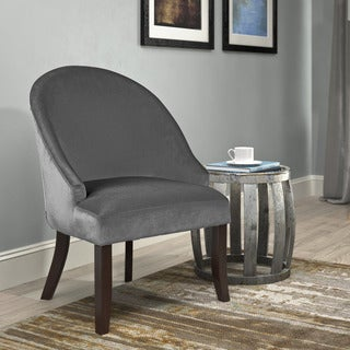 CorLiving Antonio Velvet Accent Chair