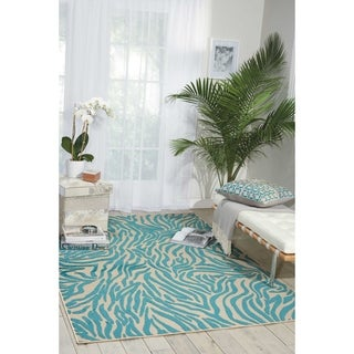 Nourison Aloha Outdoor Animal Area Rug (5'3 x 7'5)