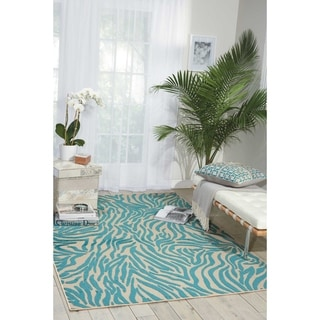 Nourison Aloha Animal Print Indoor/Outdoor Area Rug