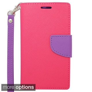 INSTEN Premium Folio Flip Leather Stand Wallet Phone Case Cover For Motorola Moto G