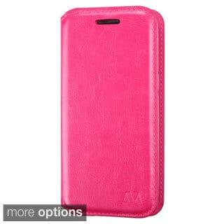 INSTEN Premium Folio Flip Leather Stand Wallet Phone Case Cover For Samsung Galaxy Avant