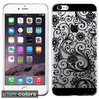 INSTEN Premium Four-leaf Clover TPU Rubber Candy Skin Phone Case Cover For Apple iPhone 6 Plus