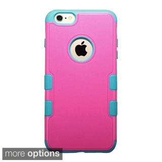 INSTEN Tuff Merge Rubberized Hard Plastic PC Snap-on Phone Case Cover For Apple iPhone 6 Plus